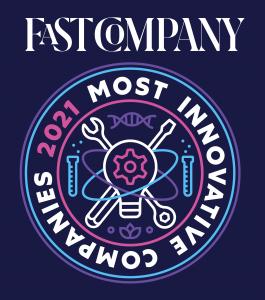 Fast Company Most Innovative Companies 2021 logo
